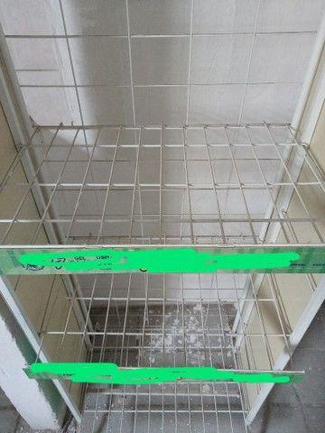 Estante de ferro branca - Foto 2