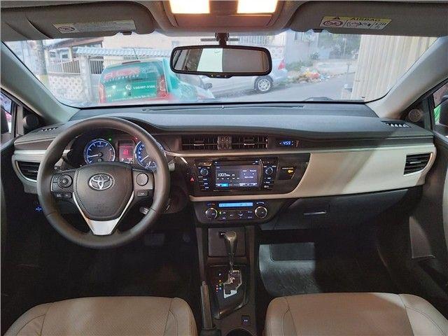 Toyota Corolla 2017 2.0 xei 16v flex 4p automático - Foto 8