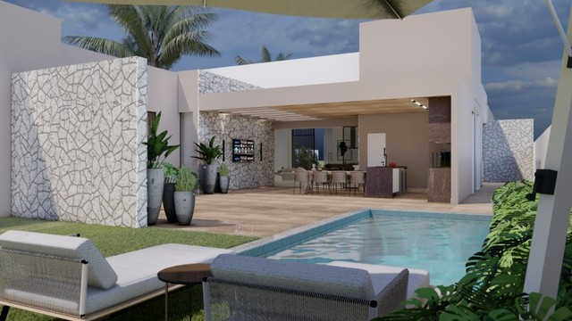 Casa em construção - Costa Laguna -Alphaville Lagoa dos Ingleses - Cód: 559