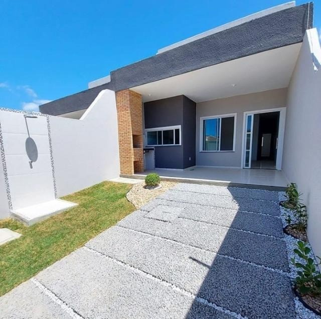 GÊ Moderna Casa, Loteamento Castelo, 3 dormitórios, 2 banheiros, 2 vagas. - Foto 2