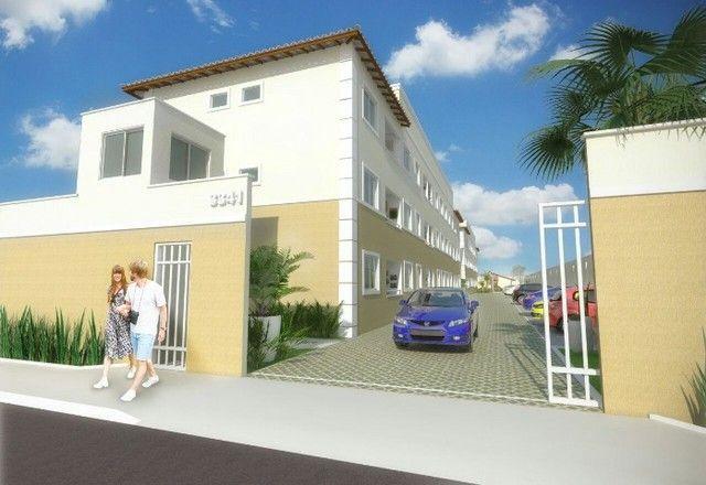 GÊ Apartamento, bairro Jangurussu, 2 dormitórios, 2 banheiros, 1 vaga.