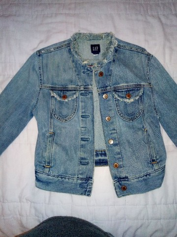 Jaqueta jeans Gap M e calça empório 38 - Foto 3