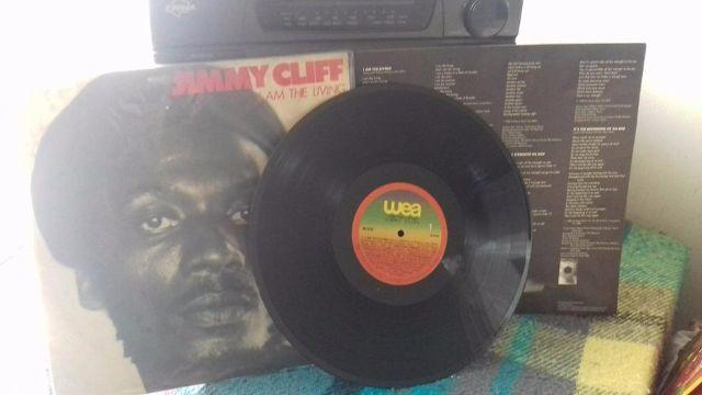 Lp Jimmy Cliff - I Am The Living (1978)