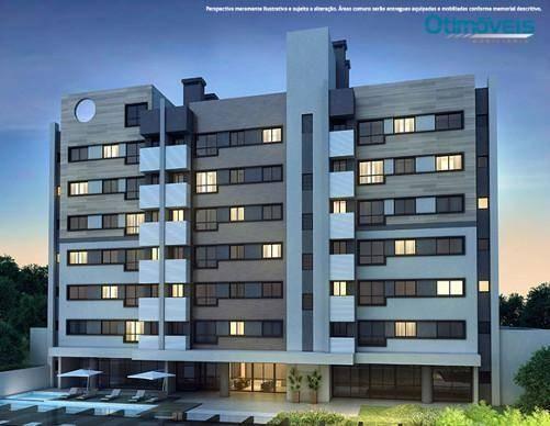 Apartamento com 2 dormitórios à venda, 56 m² por r$ 345.900,00 - santo inácio - curitiba/p - Foto 4