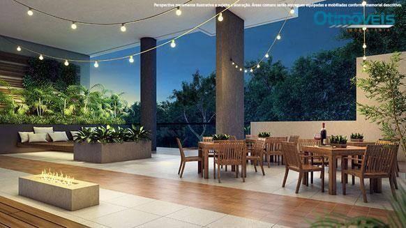 Apartamento com 2 dormitórios à venda, 56 m² por r$ 345.900,00 - santo inácio - curitiba/p - Foto 10