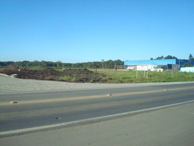 Área industrial de frente para a BR280 com 15000m²