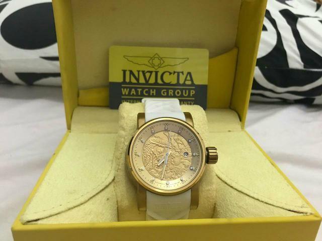 046c250aa70 Relógio invicta yakuza branco automático original - Bijouterias ...