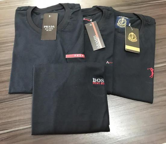 Camisetas em Algodão Menegotti - Foto 3