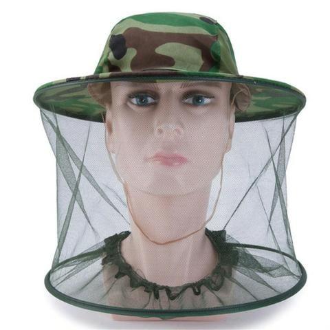 ea9380dee6905 Chapéu Mosquiteiro Proteção Na Pescaria Do Sol E Mosquitos ...