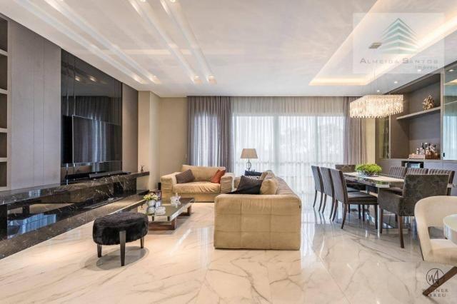 Apartamento à venda, 185 m² por r$ 1.549.000,00 - campo comprido - curitiba/pr - Foto 6
