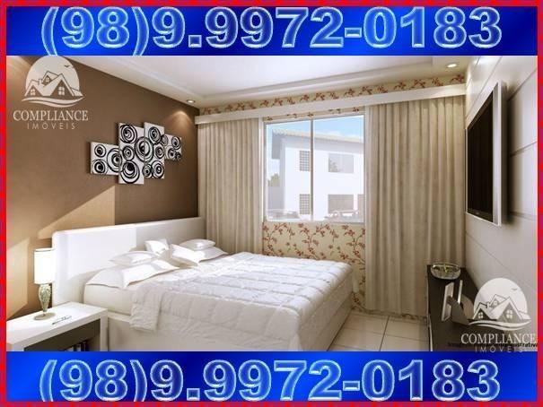 Plaza Das Flores II e III, apartamentos 2 quartos à venda, Paço do Lumiar - Foto 5