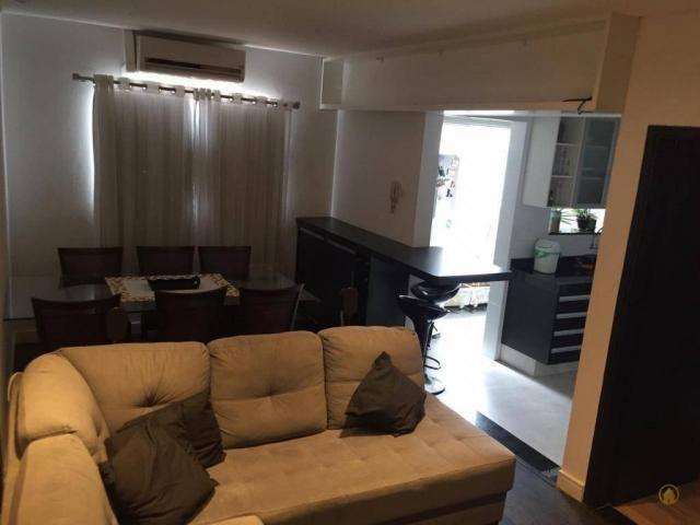 Apartamento com 3 dormitórios à venda, 85 m² por r$ 279.000,00 - vila industrial - franca/