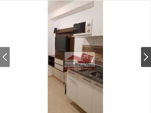 Apartamento com 1 dormitório para alugar, 38 m² por r$ 2.000,00/mês - ipiranga - são paulo - Foto 2