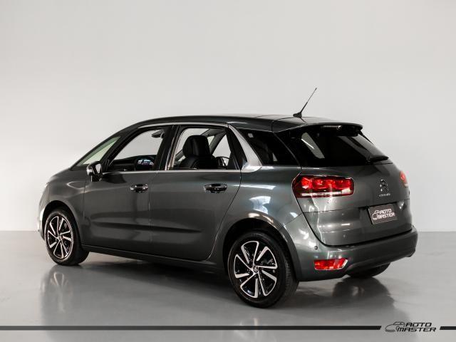 Citroën C4 Picasso Intensive 1.6 Turbo 16V Aut. - Cinza - 2018 - Foto 2
