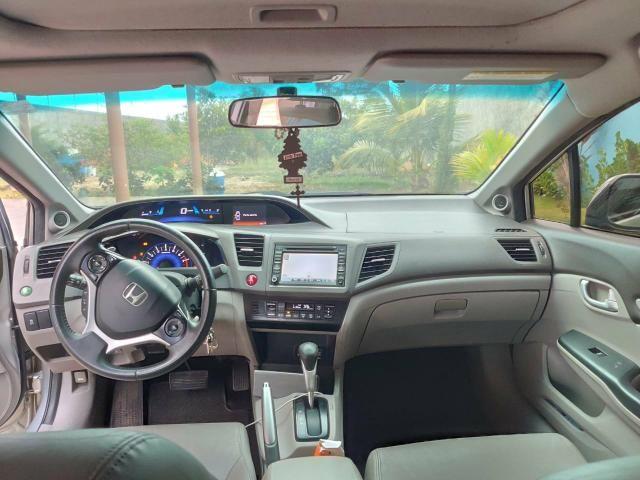 Oportunidade.Honda Civic Exs com teto solar - Foto 4
