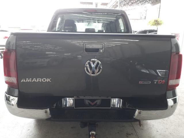 VW/Amarok 2.0 Highline 4x4 CD 16v TB 2017/2018 Cinza - Foto 6