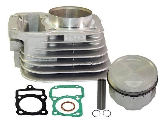 Cilindro Motor CG99p/67mm Pistão + Aneis rik - Foto 3