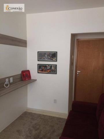 Apartamento com 1 dormitório para alugar, 30 m² por R$ 1.225,00/mês - Centro - São Carlos/ - Foto 3