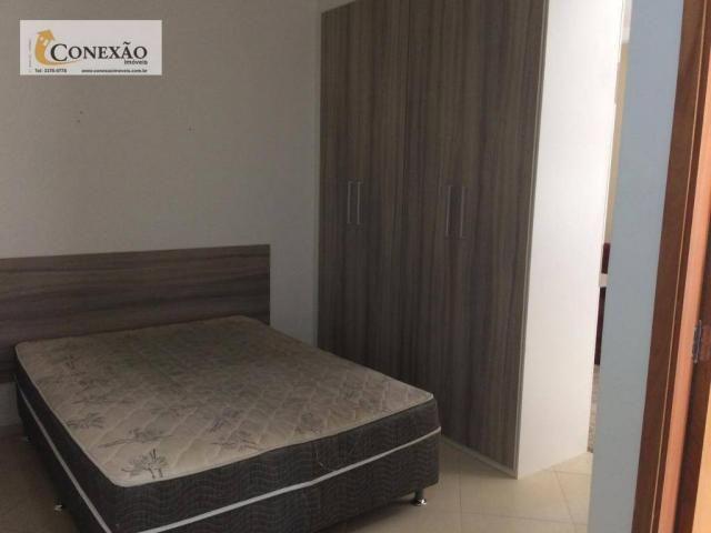 Apartamento com 1 dormitório para alugar, 30 m² por R$ 1.225,00/mês - Centro - São Carlos/ - Foto 7