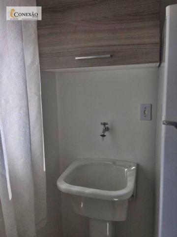 Apartamento com 1 dormitório para alugar, 30 m² por R$ 1.225,00/mês - Centro - São Carlos/ - Foto 6