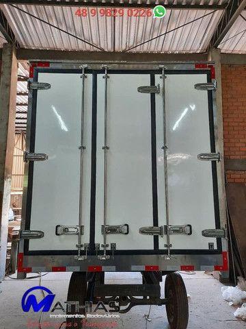 Ref 0981 Baú frigorífico 3/4 gancheira novo a pronta entrega - Foto 2