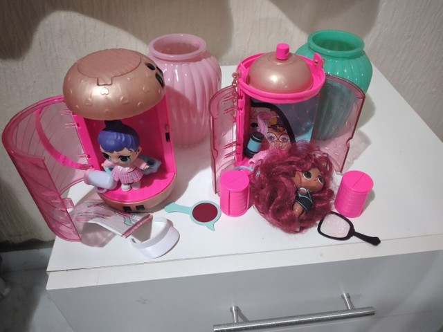 3 bonecas lol