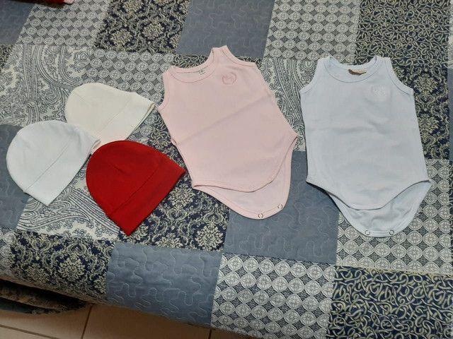 Lote roupas bebê menina tamanho P - Foto 2