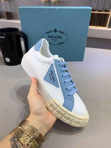 Tênis Prada White Blue