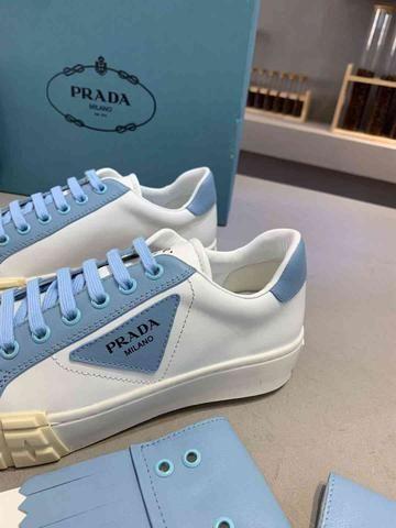 Tênis Prada White Blue - Foto 5