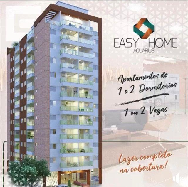 Easy Home 1 dorm varanda Gourmet -J.d Aquarius - Localização Privilegiada - Foto 2