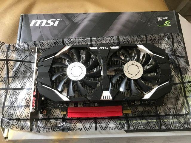Placa de vídeo GTX 1050 Ti MSI