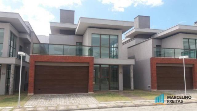 Casa com 3 dormitórios para alugar, 236 m² por R$ 3.609,00/mês - Centro - Eusébio/CE - Foto 2