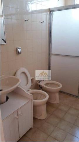 Apartamento com 2 dormitórios para alugar, 75 m² por R$ 1.050/mês - Centro - Ribeirão Pret - Foto 12