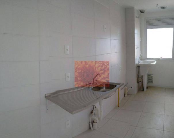 Apartamento com 3 dormitórios à venda, 61 m² por R$ 350.000,00 - Areal - Pelotas/RS - Foto 4