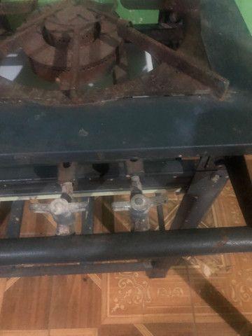 Fogão industrial duas bocas - Foto 4