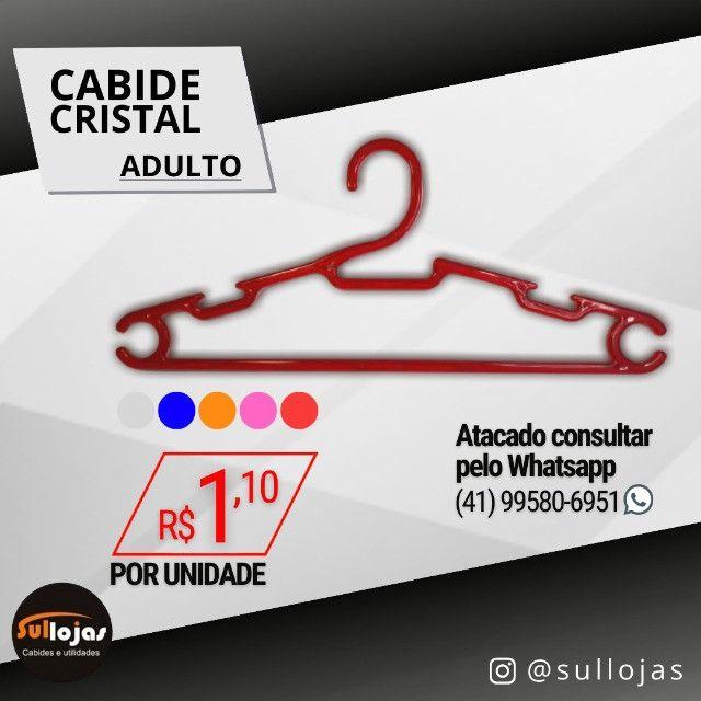 Cabide Acrílico Adulto - Foto 5
