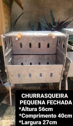 CHURRASQUEIRAS DESMONTÁVEIS A PARTIR DE 120,00 REAIS  - Foto 2