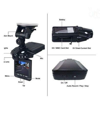 Câmera Veicular HD Filmadora Digital - Câmera Digital HD - Foto 2