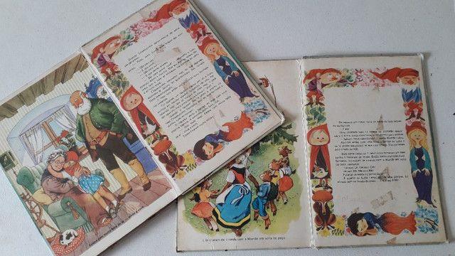 Livros infantis Estorias infantis antigo com 2 volumes - Foto 5