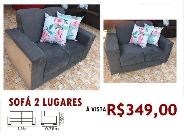 Conforto e Qualidade você encontra So aqui Lindos Sofás a Partir de R$349,00!!! - Foto 2
