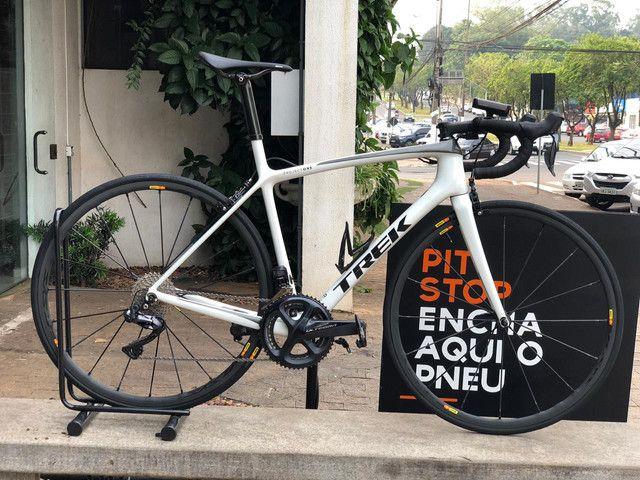 Bicicleta speed Trek Émonda SLR - tamanho 54 - Semi-nova - Foto 3