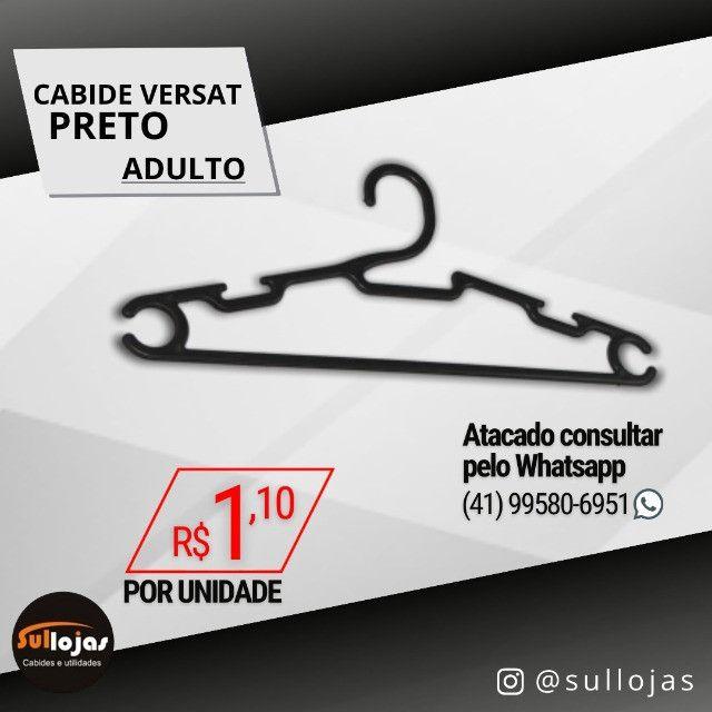 Cabide Acrílico Adulto - Foto 2