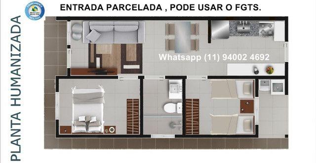 Alta Vista Campo Limpo Pta, casas em condominio , entrada parcelada , pode usar FGTS - Foto 7