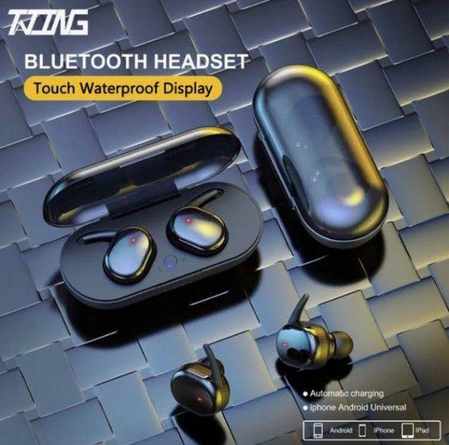 Fone sem fio Bluetooth 5.0 Y30 ideal para esportes exercícios e para dar de presente