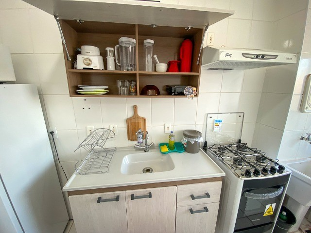 Locação Por Temporada) Apartamento mobiliado - Foto 12