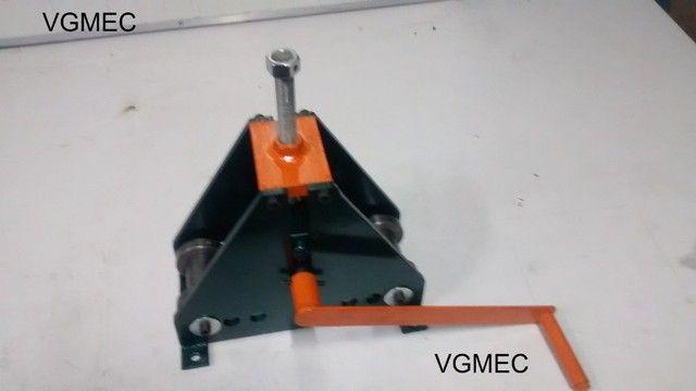 Calandra Manual para metalon - Foto 2