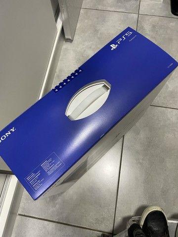 Playstation 5 com leitor novo lacrado com nota e garantia de 1 ano  - Foto 4