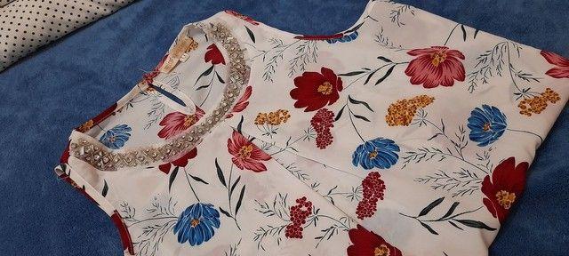 Blusa estampada - Foto 3