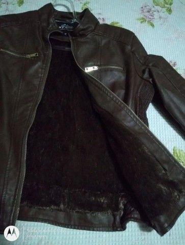 Jaqueta em Couro sintético  - Foto 4