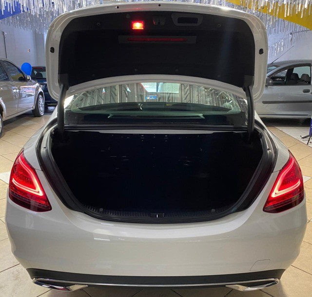 Mercedes Benz C 180 2019 1.6 Gasolina Único Dono Branca Estudo Troca e Financio - Foto 19